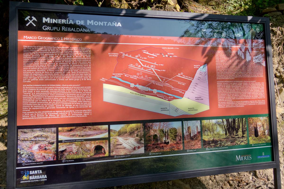 Información sobre la bocamina y el grupo Santa Bárbara