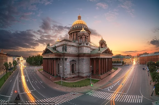 Saint Isaac's Cathedral in St.Petersburg