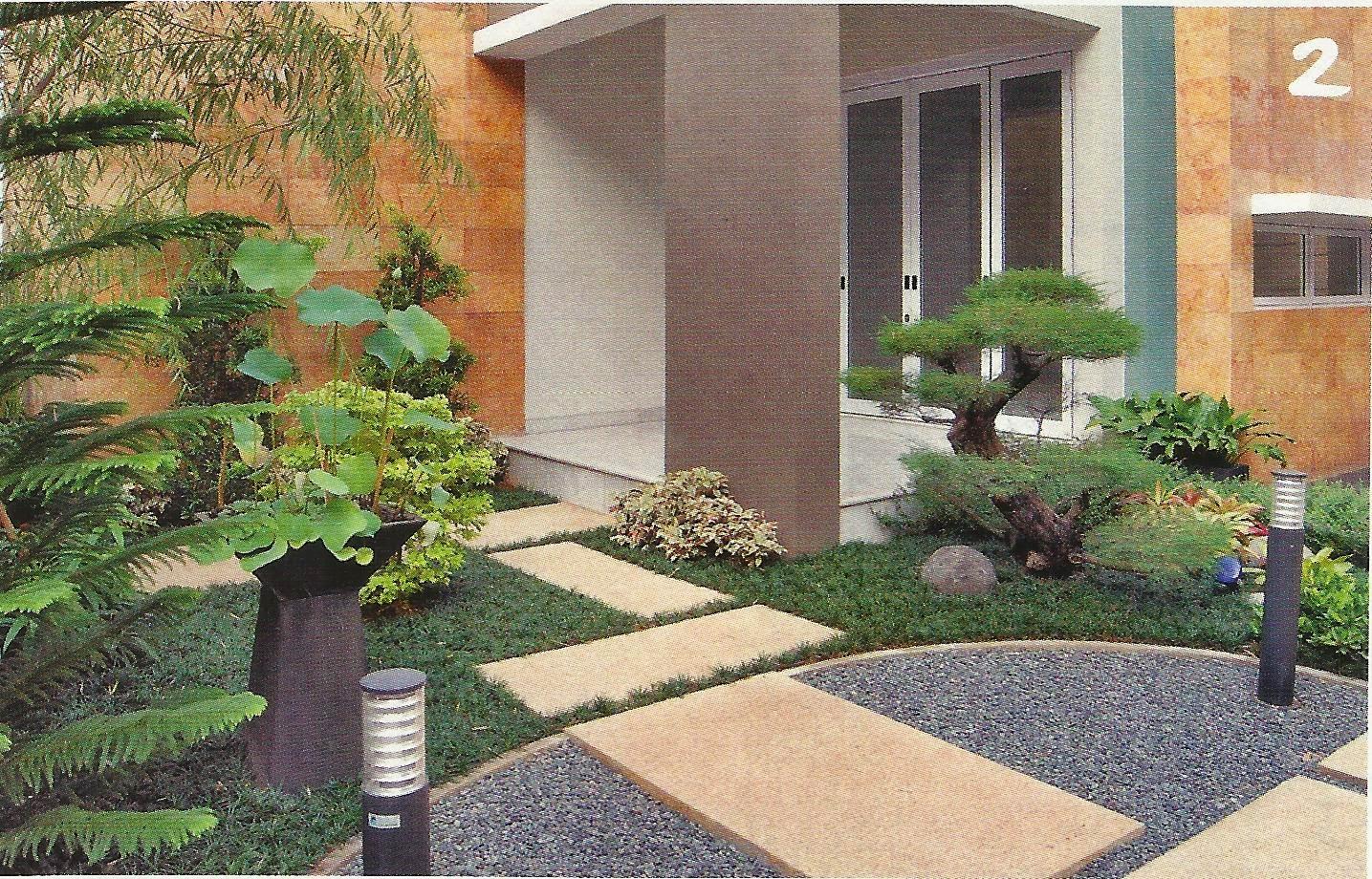 Model Taman Rumah Minimalis Depan Rumah