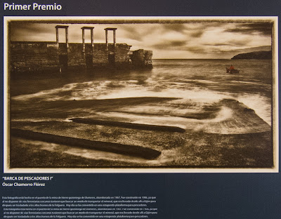 Exposición del X Certamen de fotografía de INCUNA, Barca de pescadores de Oscar Chamorro