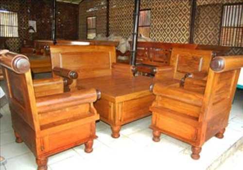 Aneka contoh konsep desain kursi tamu set dengan meja berharga