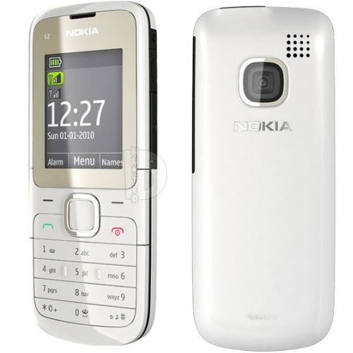 the best mobiles the best price nokia c2 00 white buy. Black Bedroom Furniture Sets. Home Design Ideas
