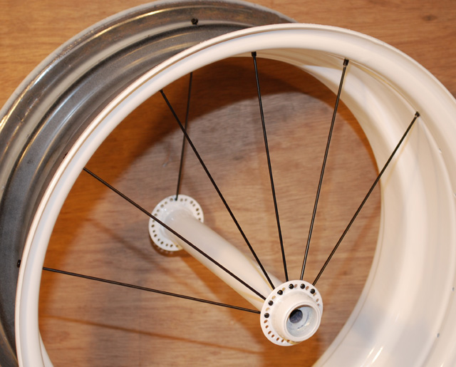 how to clean bicycle spokes