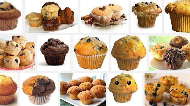 Cara Buat Muffin Yang Gebu dan Enak