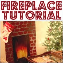 FUN FIREPLACE DIY