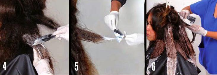 La máscara para los cabellos del plátano el efecto