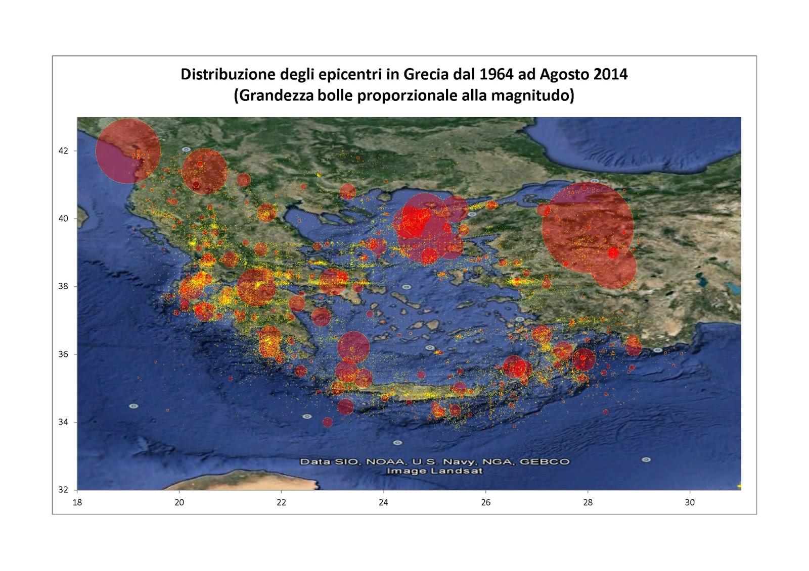 Geologia e sismicit dell 39 arco ellenico e della grecia for Planimetrie della cabina ad arco