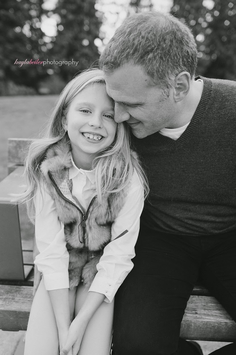 father daughter portraits north vancouver photo
