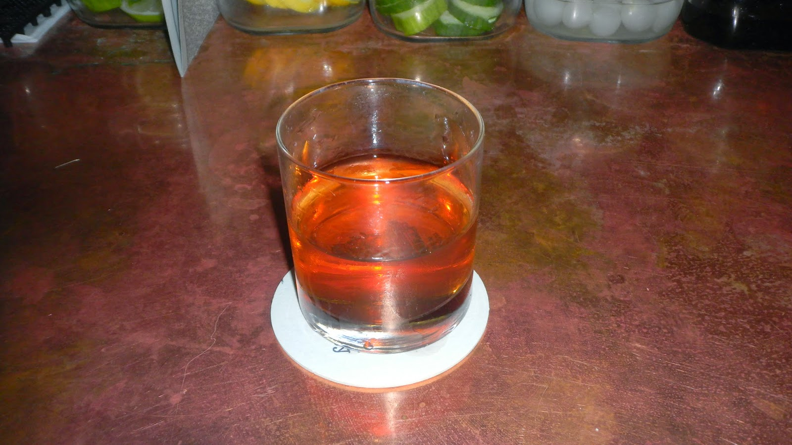 sazerac cocktail at Dullboy Jersey City