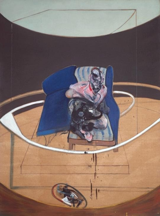 Francis Bacon - Study forPortrait on Folding Bed,1963.Tate,London