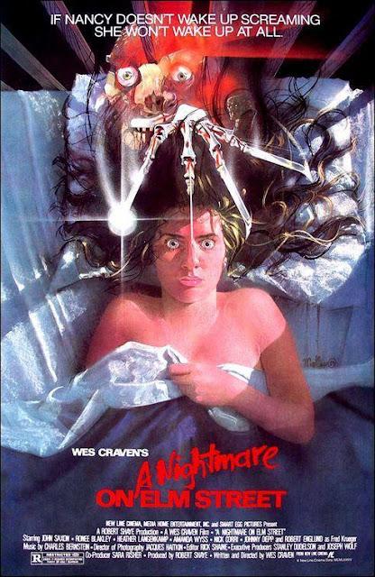 Cartel Pesadilla en Elm Street