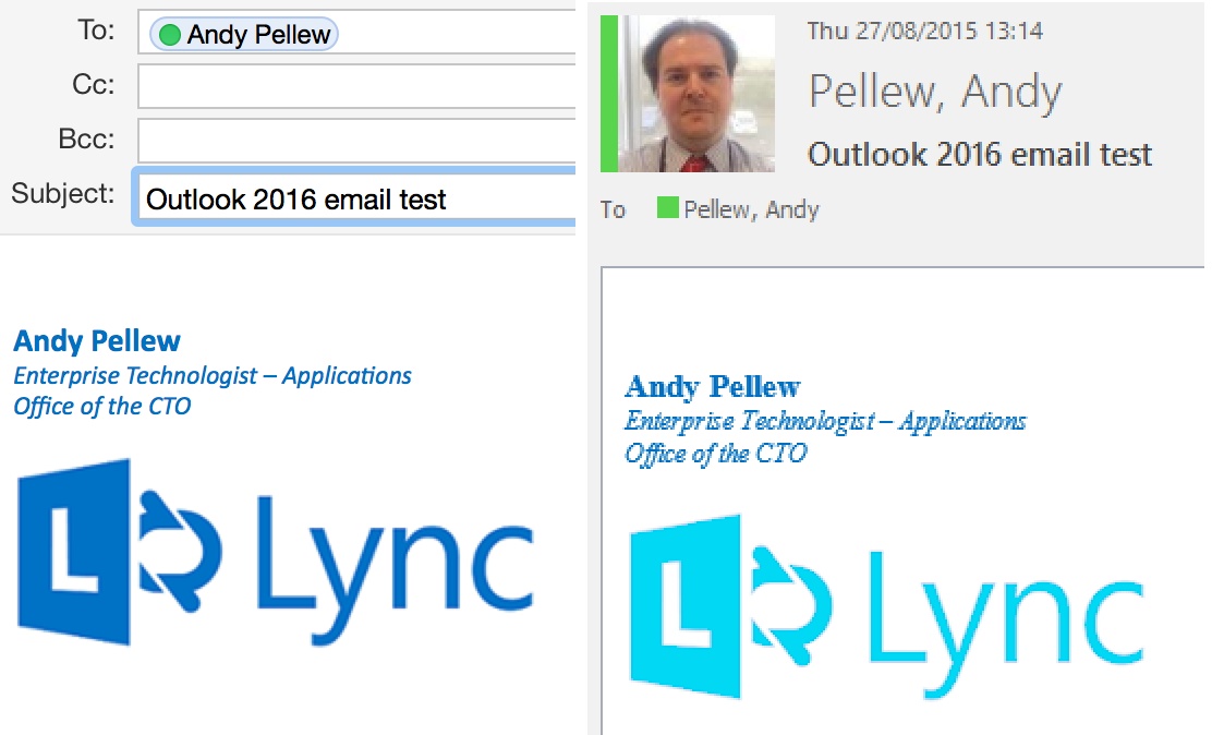 how to change signature font in outlook mac
