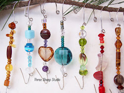 How To Make A Beaded Ornament Hanger...
