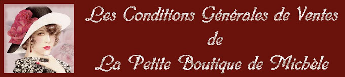 lapetiteboutiquedemichele-conditionsgénérales