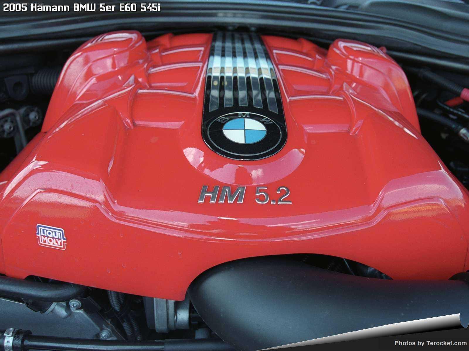 Hình ảnh xe ô tô Hamann BMW 5er E60 545i 2005 & nội ngoại thất