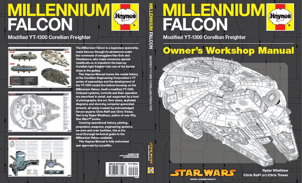 Haynes Star Wars: Millennium Falcon Owner's Workshop Manual Review ...