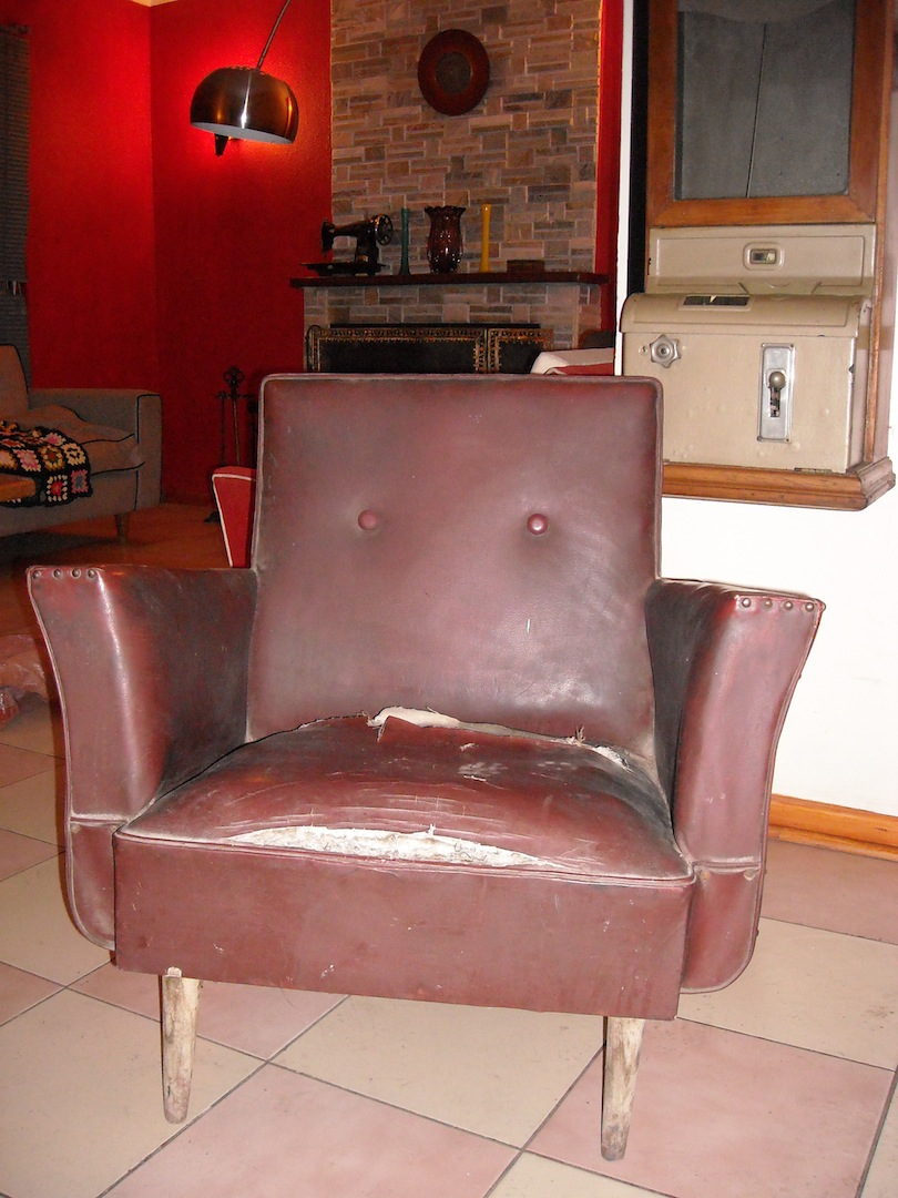 Retromanias living y butacas retro - Restaurar sillon antiguo ...