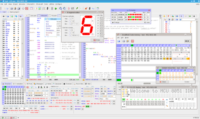 MCU 8051 IDE Screenshot