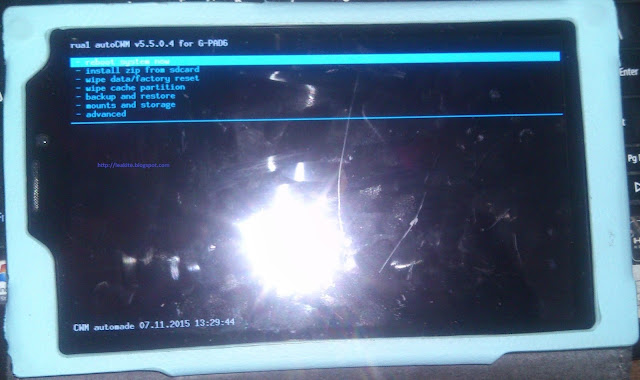 Fastboot flashable CWM Recovery for G-tide Gpad6