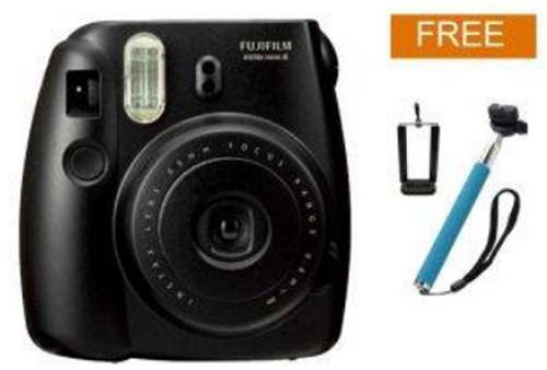 Fujifilm Instax Polaroid Camera Mini 8S - Hitam