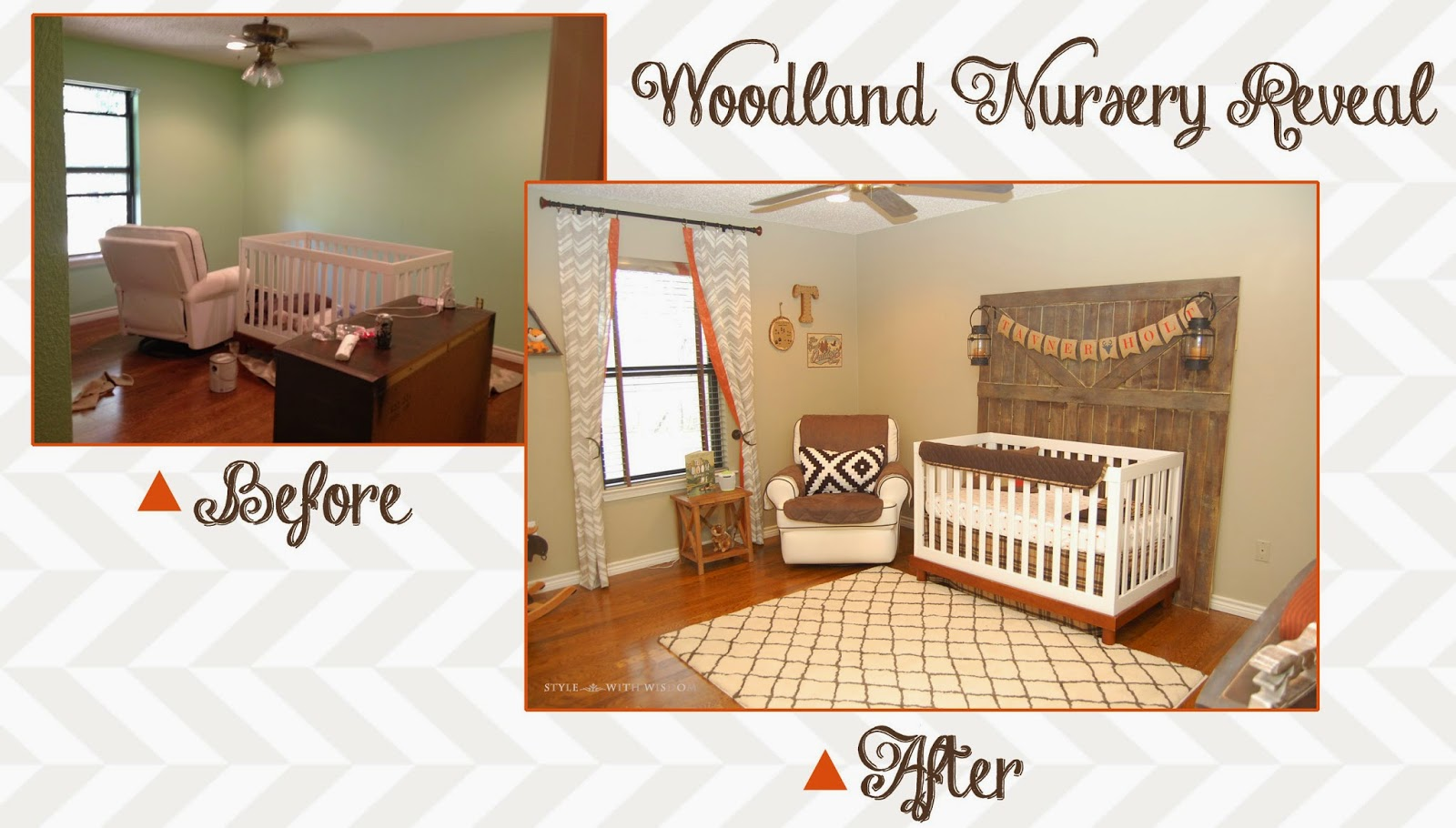 Woodland Nursery Before and After