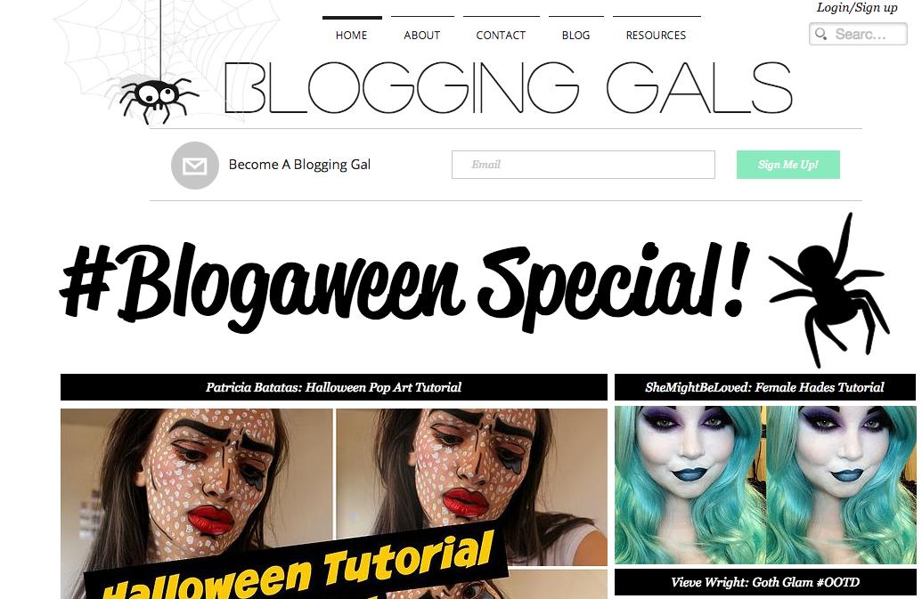 blogging gals halloween, shemightbeloved