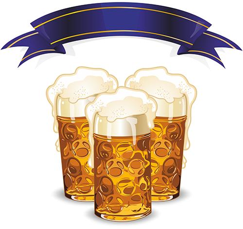 Vectores - del mundo de la cerveza 2f