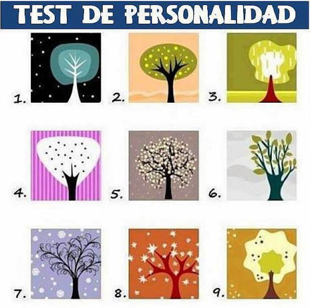 Test de Personalidad de los 9 Árboles