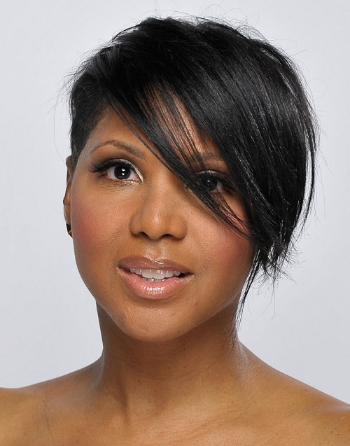 Hairstyles for Black Women with Short Hair with Bangs
