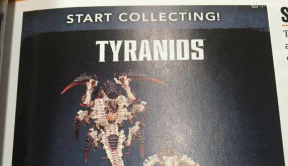 Tyranid Codex and New Start Collecting with Codex Release Date