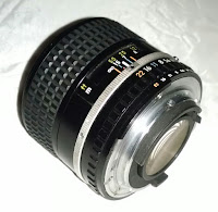 Nikon 100mm f/2.8 Series E - Rear