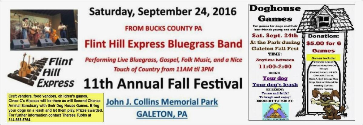 11th Annual Galeton Fall Festival