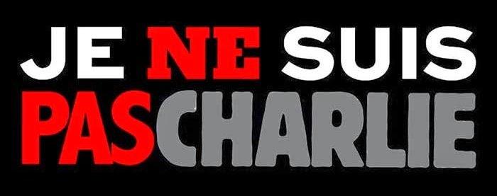 Avec le Pape: #JeNeSuisPasCharlie