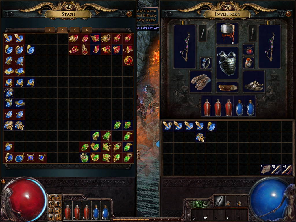 Trading system in path of exile