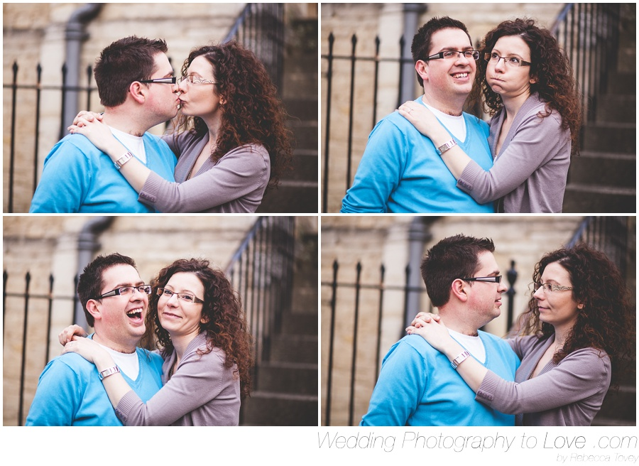 fun and goofy pre wedding photographs