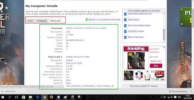 detail laptop online