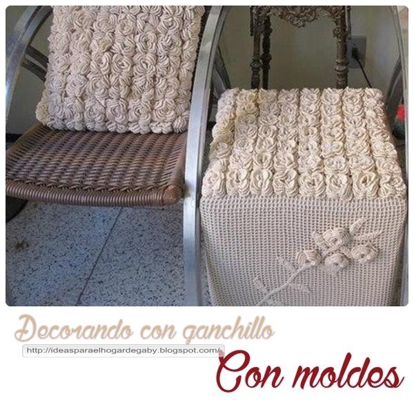 Ideas para el hogar decoraci n con ganchillo almohad n for Ideas originales para el hogar