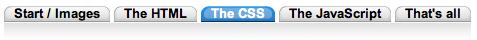 Flexible CSS Menu