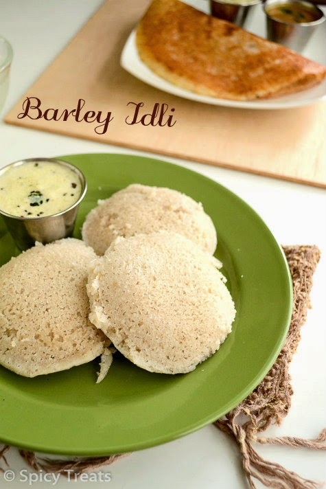 Barley Idli Recipe