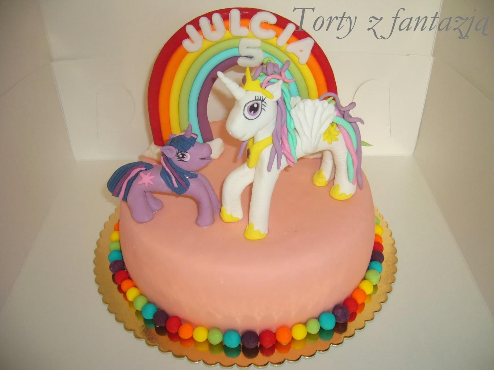 Tort księżniczka celestia i twilight sparkle