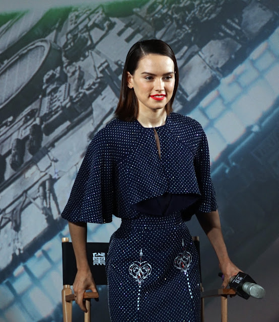 Actress, @ Daisy Ridley - 'Star Wars: The Force Awakens' photocall in Shanghai