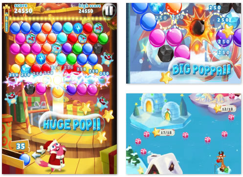 FB Game : Bubble Mania Seasons