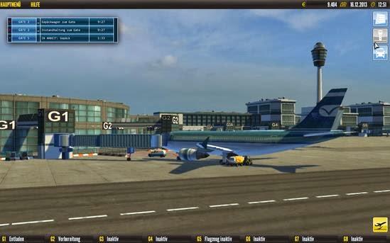 Gameplay Airport Simulator 2014
