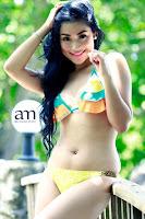 Foto Seksi Bikini Model - Alyzza Agustin