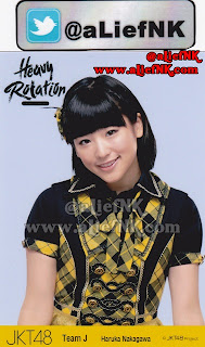 JKT48 Heavy Rotation Type-A | Photo Pack Member (Haruka Nakagawa) [image by @aLiefNK]