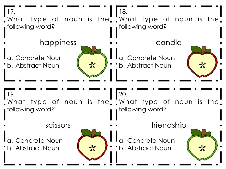 Copy Of Abstract Nouns Lessons Tes Teach – Abstract and Concrete Nouns Worksheets