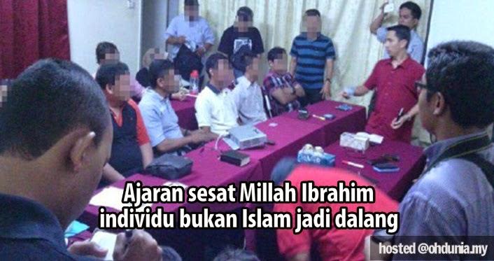 Ajaran Sesat Millah Ibrahim, Dalang Individu Bukan Islam Dikenal Pasti