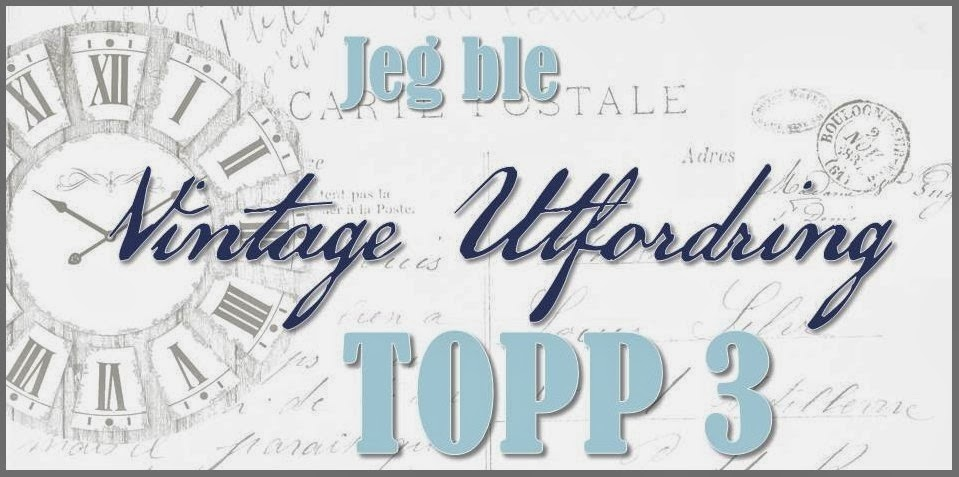 Topp 3 Vintage utfordring