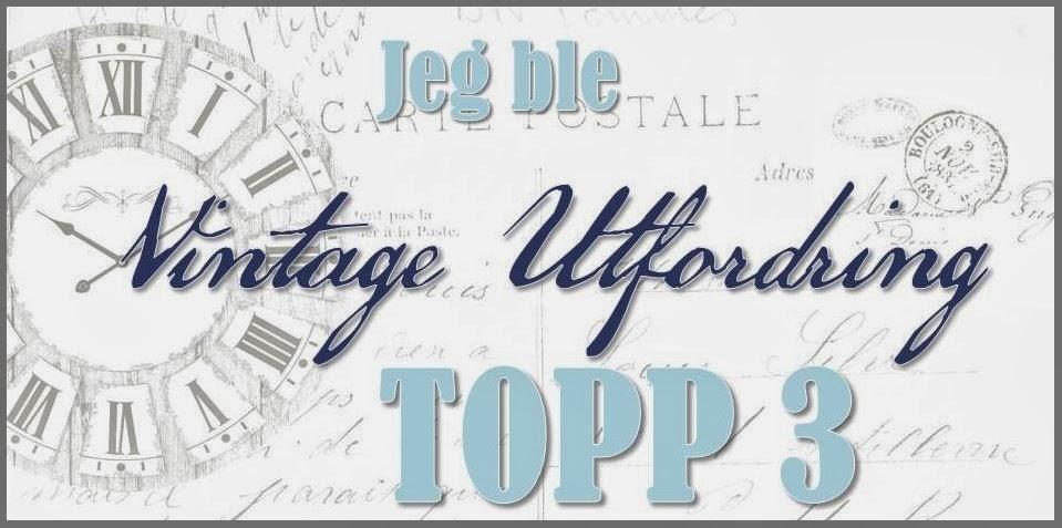 Topp 3 Vintage utfordring