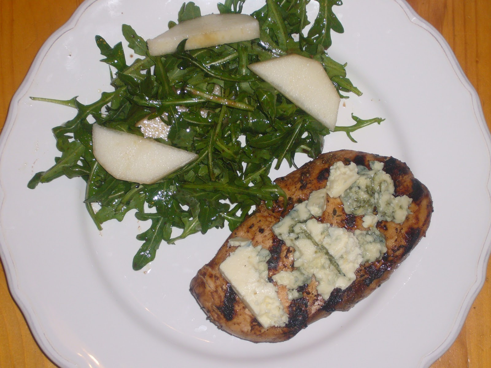 Kitchen Sink Diaries: Balsamic Blue Cheese Chicken